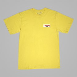 FUCKING AWESOME X THRASHER 'THRASH ME' TEE YELLOW
