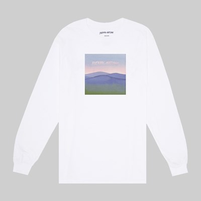 FUCKING AWESOME ALBURN LONG SLEEVE TEE WHITE