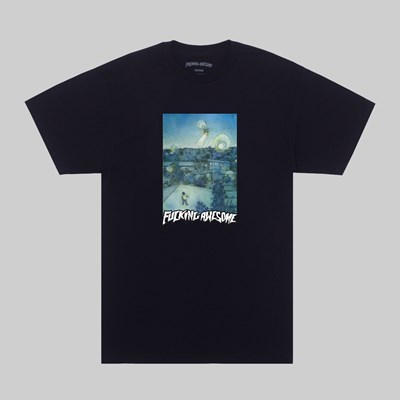 FUCKING AWESOME HELICOPTER SS T-SHIRT BLACK