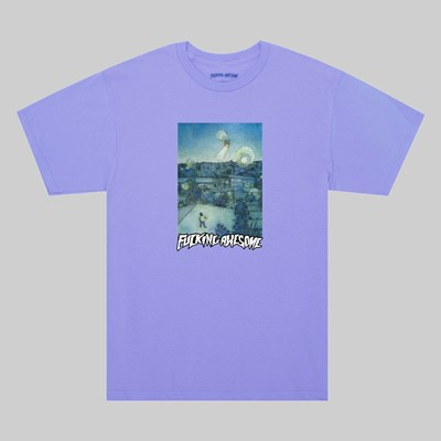 FUCKING AWESOME HELICOPTER SS T-SHIRT VIOLET