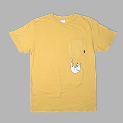 RIP N DIP FALLING FOR NERMAL UPSIDE DOWN POCKET TEE  BANANA