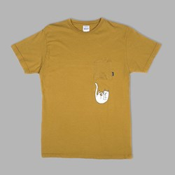 RIP N DIP FALLING FOR NERMAL UPSIDE DOWN POCKET TEE  BURNT