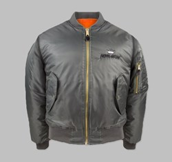 FUCKING AWESOME X INDY ANGEL BOMBER JACKET MILITARY