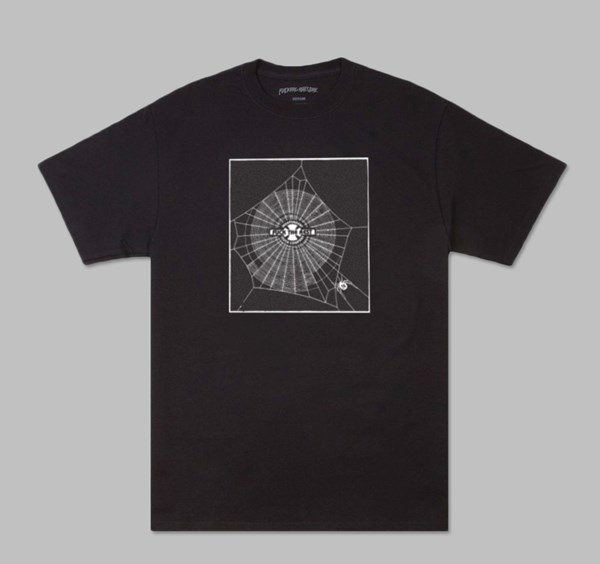 FUCKING AWESOME X INDY WEB TEE BLACK