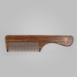 FELLOWS Monarch Beard Comb CAPPUCCINO