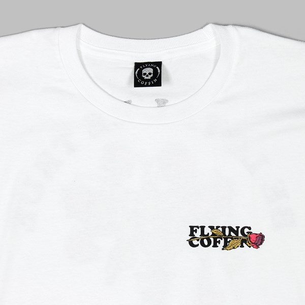 FLYING COFFIN BE LOYAL SS T-SHIRT WHITE