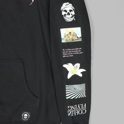 FLYING COFFIN STACK PO HOODIE BLACK