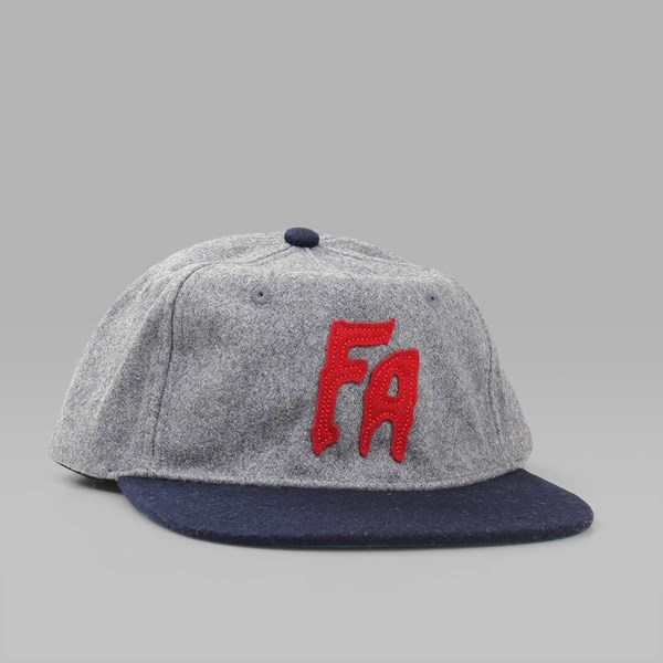 FUCKING AWESOME CLASSIC FA CAP GREY NAVY