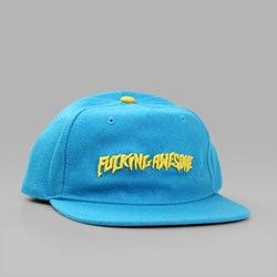 FUCKING AWESOME CLASSIC LOGO CAP LIGHT BLUE