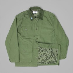 FUCKING AWESOME FA FIELD JACKET ARMY GREEN