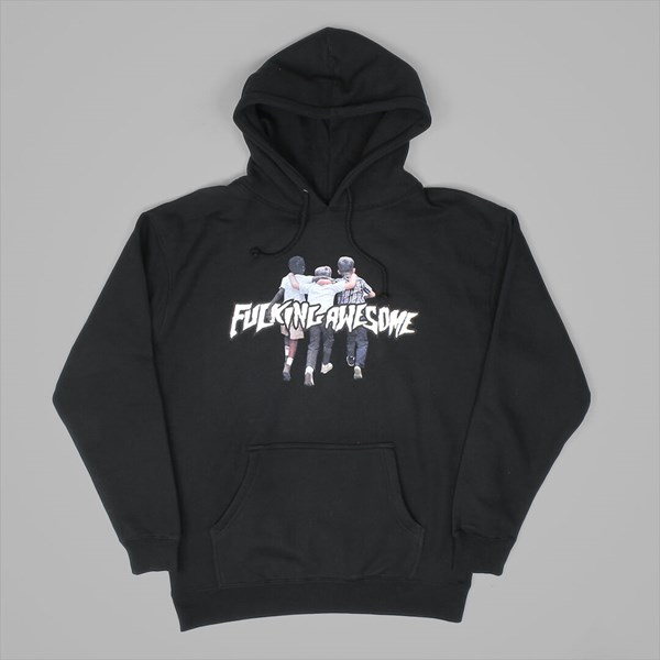 FUCKING AWESOME FRIENDS HOOD BLACK