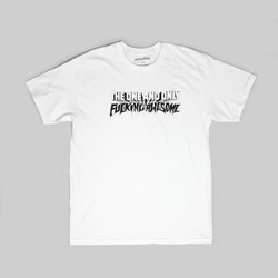 FUCKING AWESOME ONE & ONLY TEE WHITE