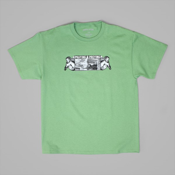 FUCKING AWESOME PREYING TEE MINT