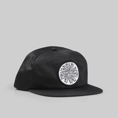 FUCKING AWESOME SPIRAL CAP BLACK