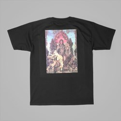 FUCKING AWESOME THRONE SS TEE BLACK