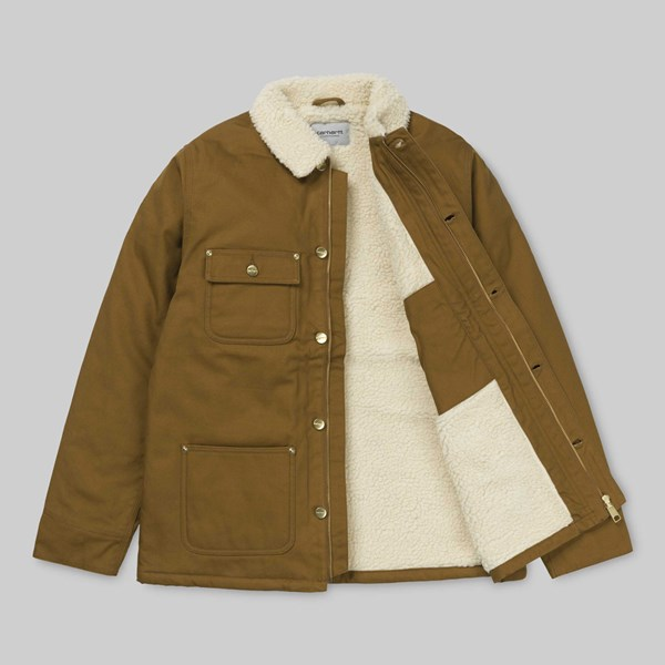 CARHARTT FAIRMOUNT COAT HAMILTON BROWN