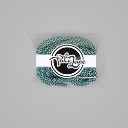 Fat Lace After Eight Rope Laces Mint Black - 125cm