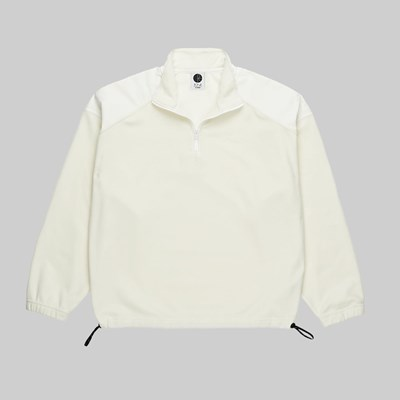 POLAR SKATE CO. LT FLEECE PULLOVER IVORY