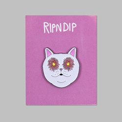 RIP N DIP FLOWER EYES PIN BADGE