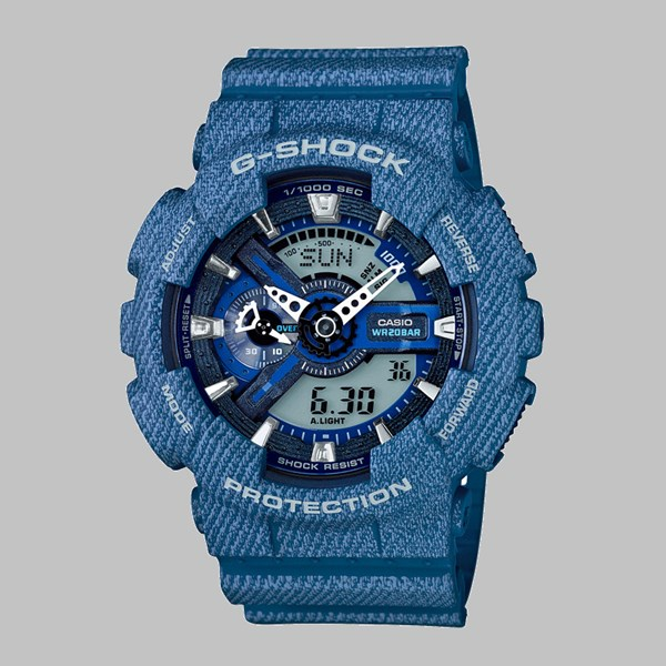 G SHOCK WATCH GA-110DC-2AER LIGHT DENIM