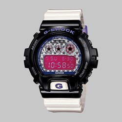 G SHOCK WATCH DW-6900SC-1ER BLACK WHITE