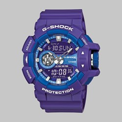 G SHOCK WATCH GA-400A-6AER PURPLE BLUE