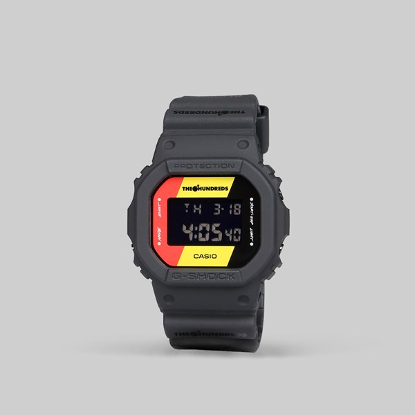 G SHOCK X THE HUNDREDS DW-5600HDR-1ER WATCH BLACK