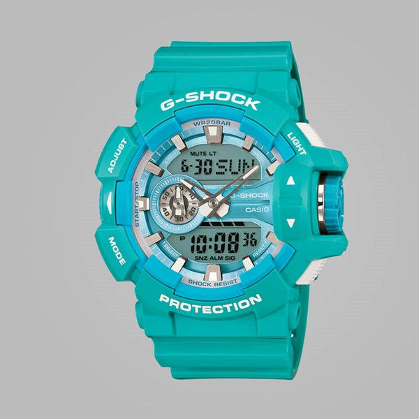 G SHOCK WATCH GA-400A-2AER BRIGHT BLUE