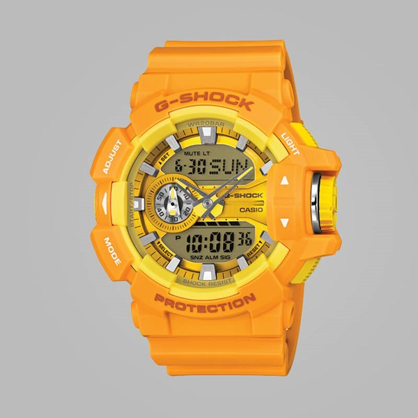G SHOCK WATCH GA-400A-9AER ORANGE