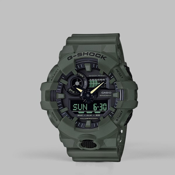 G SHOCK WATCH GA-700UC-3AER 'UTILITY PACK' ARMY