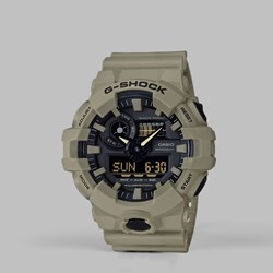 G SHOCK WATCH GA-700UC-5AER 'UTILITY PACK' KHAKI
