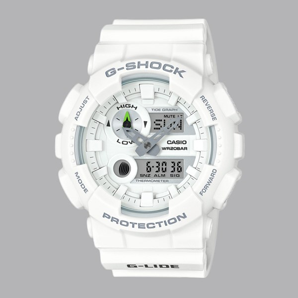 G SHOCK WATCH GAX-100A-7AER WHITE WHITE