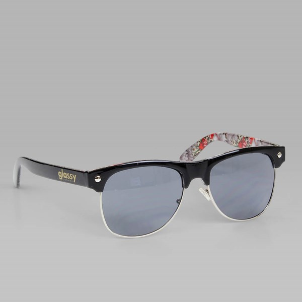 GLASSY SHREDDER SUNGLASSES BLACK CHEETAH