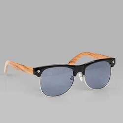 GLASSY SHREDDER SUNGLASSES BLACK WOOD