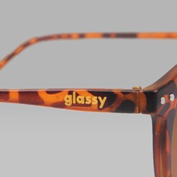 GLASSY TIM TIM SUNGLASSES TORTOISE SHELL