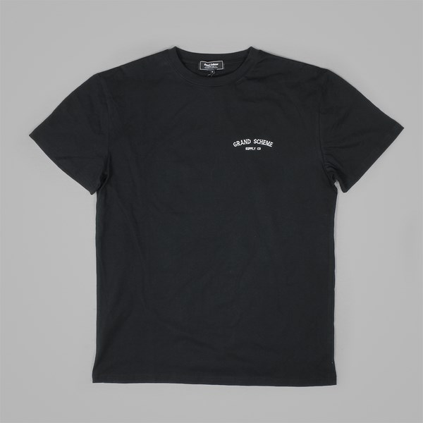 GRAND SCHEME CASTAWAY T SHIRT BLACK