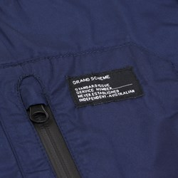 GRAND SCHEME COURIER 15 JACKET BLUE-RED