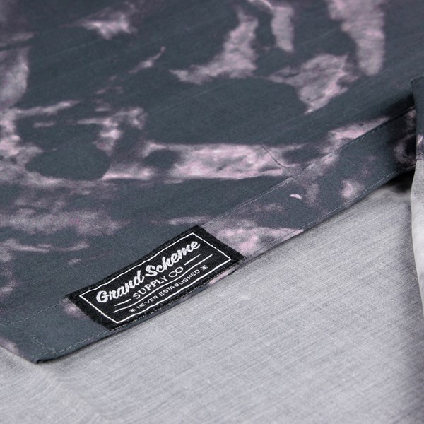 GRAND SCHEME MARBLE SS SHIRT BLACK