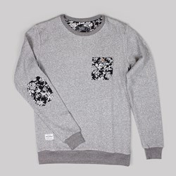 GRAND SCHEME PORCELAIN TRIM CREWNECK GREY