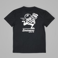 GRAND SCHEME ROBBER T SHIRT BLACK