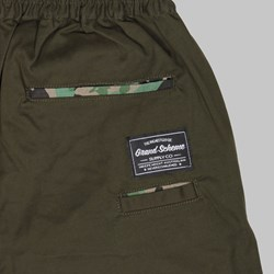 GRAND SCHEME SLOUCH CHINO SHORT ARMY