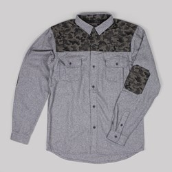 GRAND SCHEME WOODLAND ASPEN SHIRT GREY