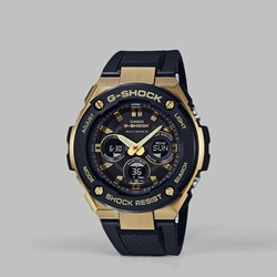 G SHOCK STEEL GST-W300G-1A9ER GOLD BLACK