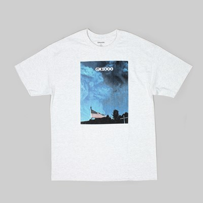 GX1000 FLAG SS T-SHIRT ASH GREY