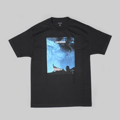 GX1000 FLAG SS T-SHIRT BLACK