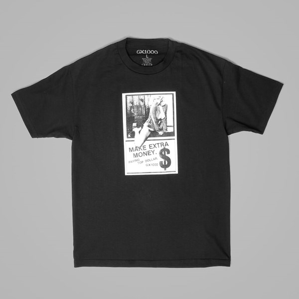 GX1000 MONEY MAKER T-SHIRT BLACK