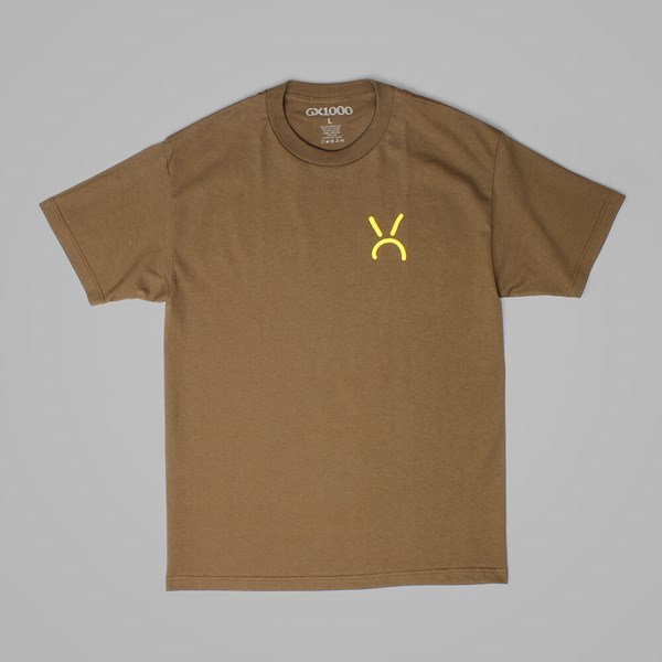 GX1000 MQUE T-SHIRT COFFEE