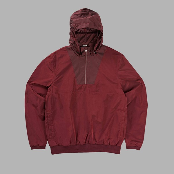 POLAR SKATE CO. GOLF CLUB PO JACKET BURGUNDY