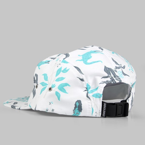 Grand Scheme Sean Morris Camper Hat White