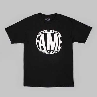 HALL OF FAME CRYSTAL VISION T SHIRT BLACK